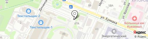 Кафе на карте Иваново