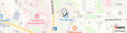 Margo на карте Костромы