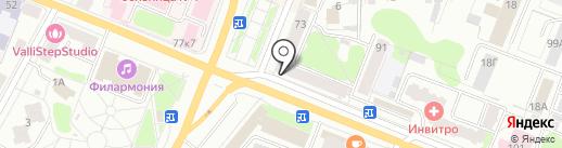 Ломбард Пятерочка на карте Костромы
