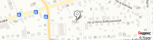 Логос на карте Костромы