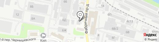 ЛИГАС на карте Иваново