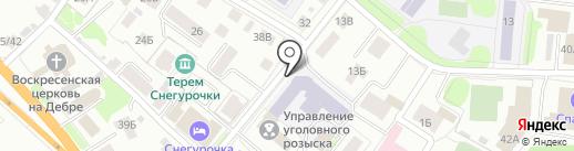 Костромской технологический техникум на карте Костромы