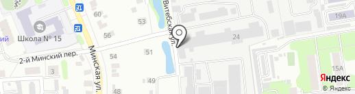 Ивановская Мебельная Фабрика на карте Иваново