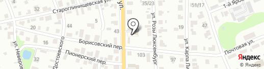 Шумахер на карте Иваново
