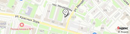 Ярославские Металлоизделия Пожарной Безопасности на карте Иваново