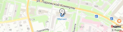 Водолей на карте Иваново