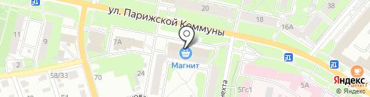 Магнит-Косметик на карте Иваново