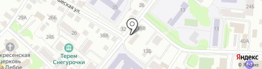 Московский комсомолец в Костроме на карте Костромы