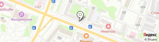 ЭкспрессДеньги на карте Костромы