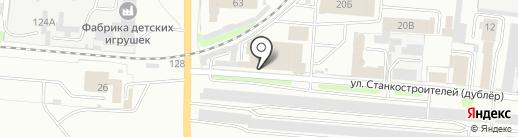 Цветмет на карте Иваново