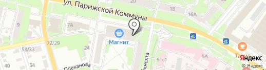 Цветочный салон на карте Иваново