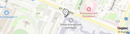 Столовая на карте Иваново