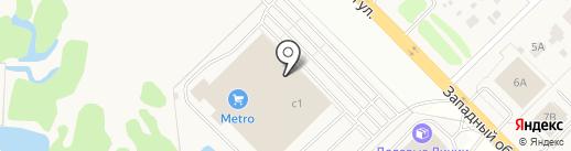 Метро Кэш энд Керри на карте Коляново