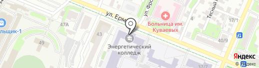 Ивановский энергетический колледж на карте Иваново