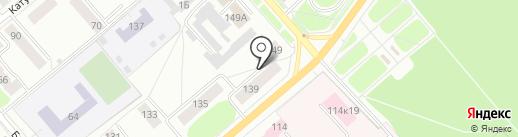 Костромской похоронный дом на карте Костромы