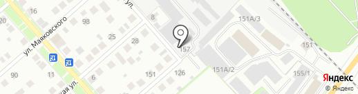 Аварийно-диспетчерская служба на карте Костромы