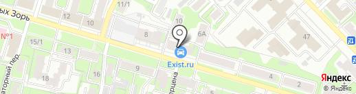 ПУМА на карте Иваново