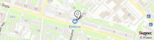 Exist на карте Иваново