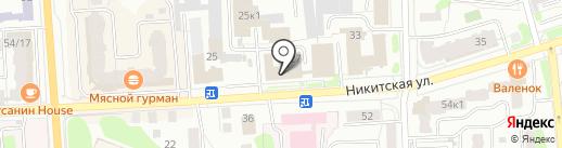 Фирма по оказанию бухгалтерских услуг на карте Костромы