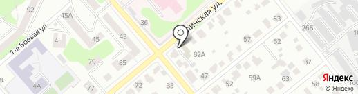 Волшебная капля на карте Костромы