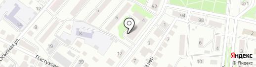 Бочка на карте Костромы