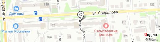 Чик-Чик на карте Костромы