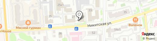 Костромской межрайонный следственный отдел на карте Костромы