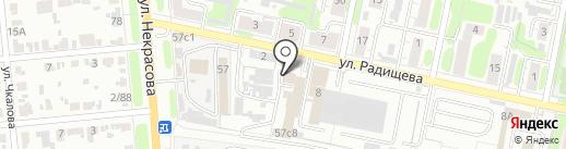 Лайн мебель на карте Иваново