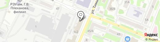 Модерн на карте Иваново