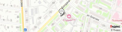 Шляпка и шубка на карте Иваново