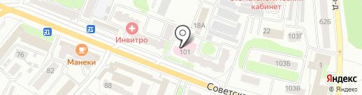 Планета окон на карте Костромы
