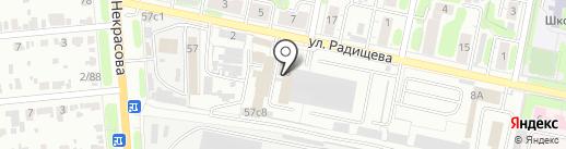 Мебель Оптима на карте Иваново