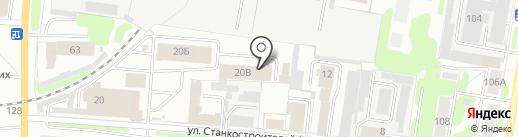 Автомастерская по ремонту грузовых автомобилей на карте Иваново