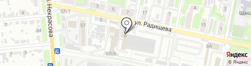 AVIS на карте Иваново