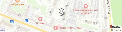 МЕТАЛТЭК на карте Костромы