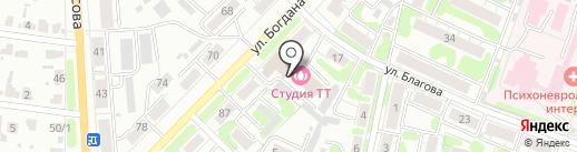 Интеграция на карте Иваново