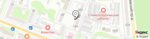 Перевозчик44 на карте Костромы