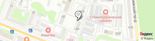 Налоговый Консультант на карте Костромы