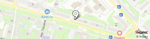 Сорок градусов на карте Иваново