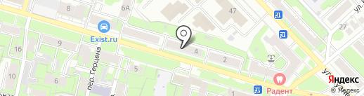 Спортивный клуб для инвалидов на карте Иваново