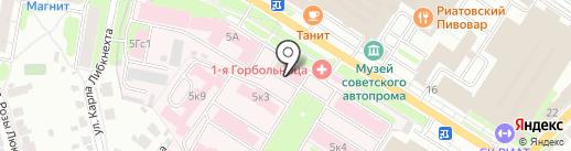 Храм иконы Божией Матери Целительница на карте Иваново