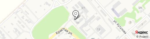 Ленинский путь на карте Новокубанска