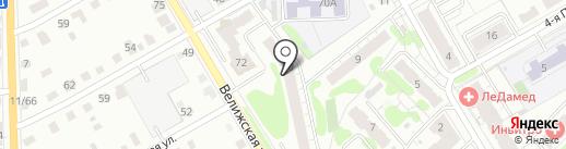 Лига-Маркет на карте Иваново