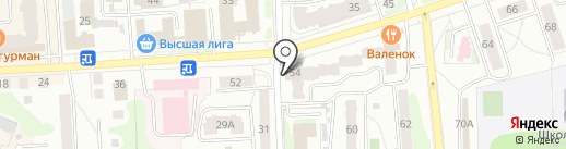 Дикси на карте Костромы