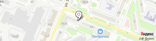 Жаннет на карте Иваново