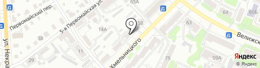 СКЕЛА на карте Иваново