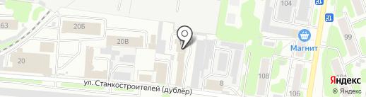 Автоспектр на карте Иваново