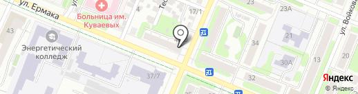 Ивановский областной учебный центр регионального отделения ДОСААФ РФ на карте Иваново