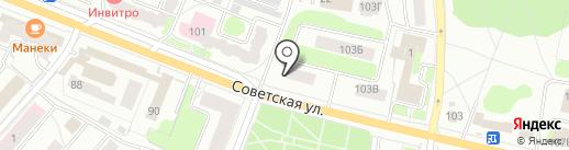 Pedant Кострома на карте Костромы