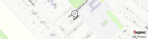 Ива на карте Новокубанска